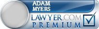 Adam Myers  Lawyer Badge