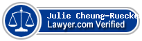 Julie Cheung-Rueckert  Lawyer Badge
