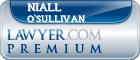 Niall Michael O'Sullivan  Lawyer Badge