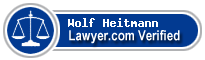 Wolf Konstantin Heitmann  Lawyer Badge