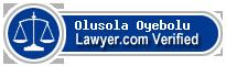 Olusola O. Oyebolu  Lawyer Badge
