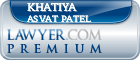 Khatiya Asvat Patel  Lawyer Badge