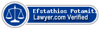 Efstathios Potamitis  Lawyer Badge