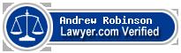 Andrew Burnside Robinson  Lawyer Badge
