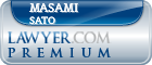Masami Sato  Lawyer Badge