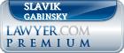 Slavik Gabinsky  Lawyer Badge