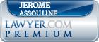 Jerome Vincent Assouline  Lawyer Badge