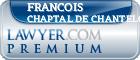 Francois C. Chaptal De Chanteloup  Lawyer Badge