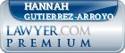 Hannah Maria Torres Gutierrez-Arroyo  Lawyer Badge