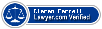 Ciaran Farrell  Lawyer Badge