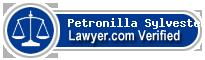 Petronilla Ruth Sylvester  Lawyer Badge