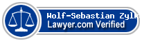 Wolf-Sebastian Zylka  Lawyer Badge