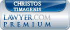 Christos Timagenis  Lawyer Badge