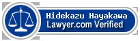 Hidekazu Hayakawa  Lawyer Badge