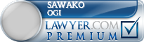 Sawako Ogi  Lawyer Badge