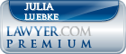 Julia Luebke  Lawyer Badge