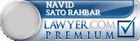 Navid Sato Rahbar  Lawyer Badge
