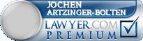 Jochen Helmut Artzinger-Bolten  Lawyer Badge