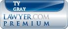 Ty Robert Gray  Lawyer Badge
