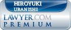 Hiroyuki Uranishi  Lawyer Badge