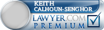 Keith W Calhoun-Senghor  Lawyer Badge