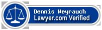 Dennis R Weyrauch  Lawyer Badge