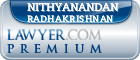 Nithyanandan Radhakrishnan  Lawyer Badge