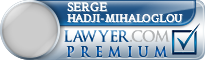 Serge B. Hadji-Mihaloglou  Lawyer Badge
