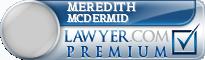 Meredith Mcdermid  Lawyer Badge