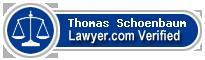 Thomas John Schoenbaum  Lawyer Badge