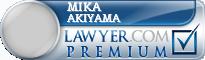 Mika Akiyama  Lawyer Badge
