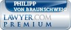 Philipp Von Braunschweig  Lawyer Badge