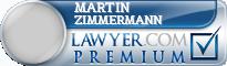 Martin Johannes Zimmermann  Lawyer Badge