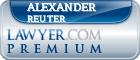 Alexander Reuter  Lawyer Badge