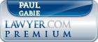 Paul Pascal Gabie  Lawyer Badge