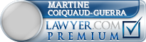 Martine Coiquaud-Guerra  Lawyer Badge