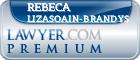 Rebeca Lizasoain-Brandys  Lawyer Badge