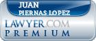 Juan Jorge Piernas Lopez  Lawyer Badge