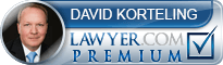 David P. Korteling  Lawyer Badge