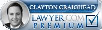 Clayton Craighead  Lawyer Badge