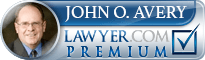 John Orval Avery  Lawyer Badge