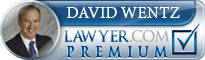 David Wentz  Lawyer Badge