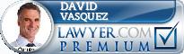 DAVID VASQUEZ  Lawyer Badge