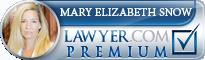 Mary Elizabeth Snow  Lawyer Badge