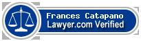 Frances Catapano  Lawyer Badge