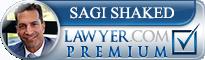 Sagi Shaked  Lawyer Badge