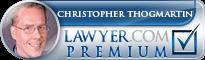 Christopher Hugh Thogmartin  Lawyer Badge