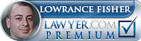Lowrance Fisher  Lawyer Badge