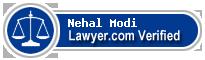 Nehal Modi  Lawyer Badge