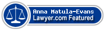 Anna J. Matula-Evans  Lawyer Badge